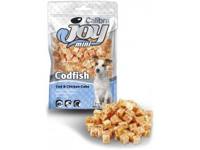 Calibra joy mini cod chicken cubes