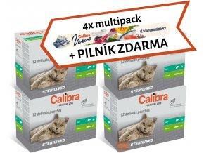 Akce PILNÍK ZDARMA Calibra sterilised