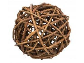 Proutěný míček pro morčata 10 cm