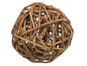 Proutěný míček pro králíky 13 cm