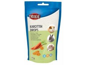 Trixie Drops mrkvové pamlsky 75 g