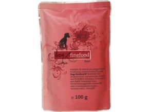 Dogz Finefood 2 hovězí - kapsička po psy 100 g