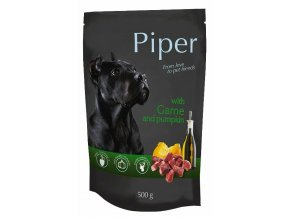 Piper se zvěřinou a dýní - kapsička pro psy 500 g