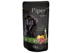 Piper se zvěřinou a dýní - kapsička pro psy 150 g