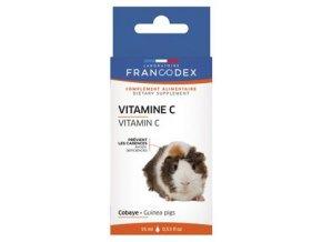 Vitamín C kapky pro morčata 15 ml