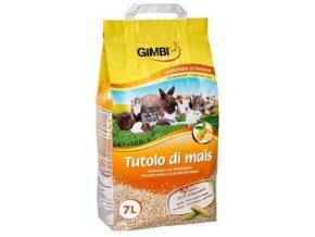 Gimbi kukuřičná podestýlka 7 l