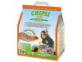 Chipsi Ultra dřevěná podestýlka 4,3 kg