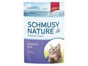 Schmusy Nature Meeres-fisch sardinky - kapsička 100 g