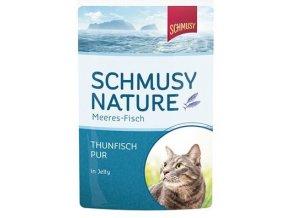 Schmusy Nature Meeres-fisch tuňák - masová kapsička pro kočky 100 g
