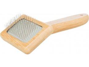 Kartáč bambusový jemné drátky 7x16 cm