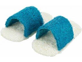 Sandálky z lufy - hračka pro králíky a hlodavce