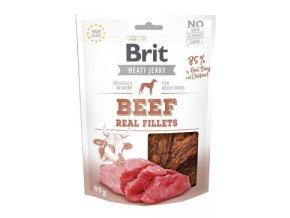 Brit Jerky Beef Fillets 80 g