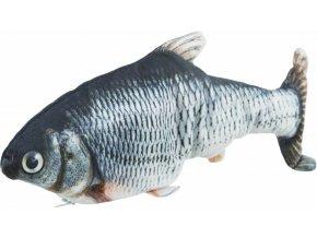 Interaktivní ryba na suchu 28 cm - hračka pro kočky