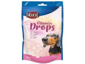 Vitamin Drops s jogurtem Trixie 200 g - bonbónky pro pejsky