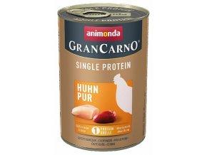 GranCarno Single Protein různé druhy - konzerva pro psy 400 g