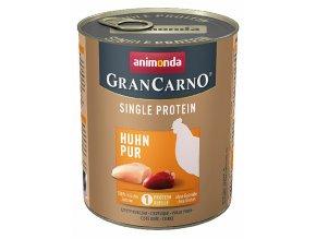 GranCarno Single Protein různé druhy - konzerva pro psy 800 g