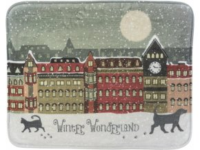 Vánoční podložka Winter Wonderland 50x40 cm
