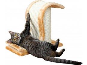 Škrábací vlna pro kočky hnědá