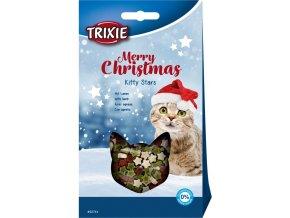 Vánoční mini hvězdičky - pamlsek pro kočky 140 g