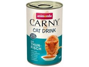 Carny Cat DRINK s tuňákem 140 ml