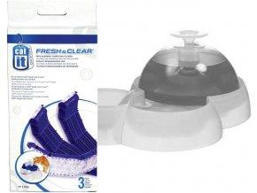Uhlíkový molitan - filtr do fontány Catit 3 l velká - 3 ks v balení