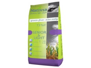 Nativia Senior Light 15 kg