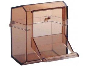 Krmítko do klece s plošinkou Trixie 7x7 cm