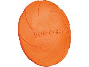 Dog Disc létající talíř přírodní guma Trixie 24 cm