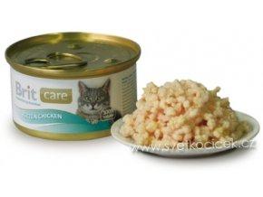 Brit Care Cat Kitten kuře - konzerva pro koťata 80 g
