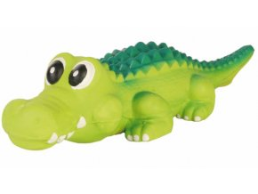 Krokodýl pevný latex 35 cm