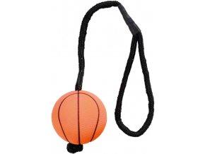Vrhací neonový míč mechová guma 6 cm / 30 cm