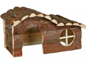 Dřevěný domeček pro morče nebo činčilu Hanna