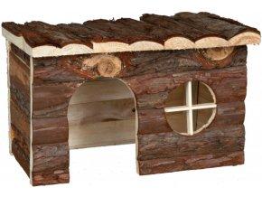 Dřevěný domeček pro morče a činčilu Jerrik