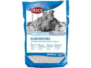 Biologické stelivo pro králíky a hlodavce Fresh'n'Easy 1 l