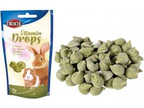 Vitamin Drops se zeleninou pro morčata a králíky 75 g DOPRODEJ