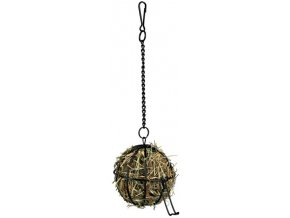 Závěsný kovový míč na potravu 8 cm