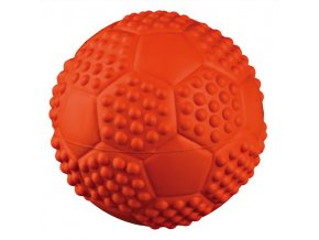 Míč se zvukem sportovní 5,5 cm - hračka pro psy