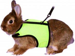 Postroj vesta s vodítkem pro králíka