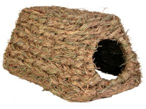 Domek z trávy 18x13x28 cm
