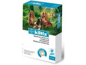 Kiltix obojek antiparazitní pro střední psy 53 cm