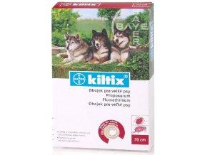 Kiltix obojek antiparazitní pro velké psy 70 cm