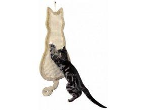 Škrabadlo kočka béžové 'NELZE DO BALÍKOVNY'