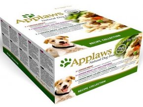 Applaws Dog Multipack Recipe - konzerva 8x156 g