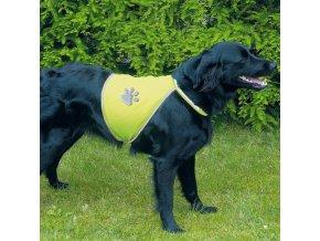 Bezpečnostní reflexní vesta pro psa XL