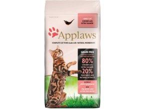 Applaws pro kočky s lososem velký pytel