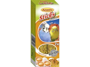 Avicentra tyč andulka vejce a med