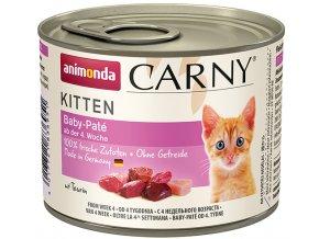 Carny Kitten Baby-Paté - konzerva pro koťata-miminka 200 g