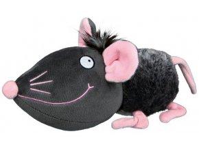 Plyšová myš se zvukem 33 cm - hračka pro psy
