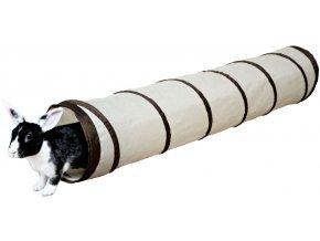 Nylonový tunel pro králíky a podobná zvířátka 19x117 cm
