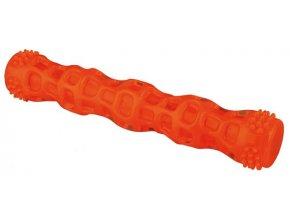 Házecí tyč se zvukem termoplastická guma 18 cm